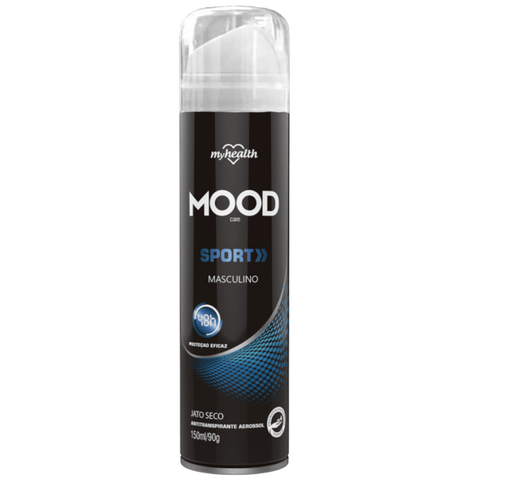 Antitranspirante Aerosol My Health Sport Men Mood 150ml My Health Men's Market