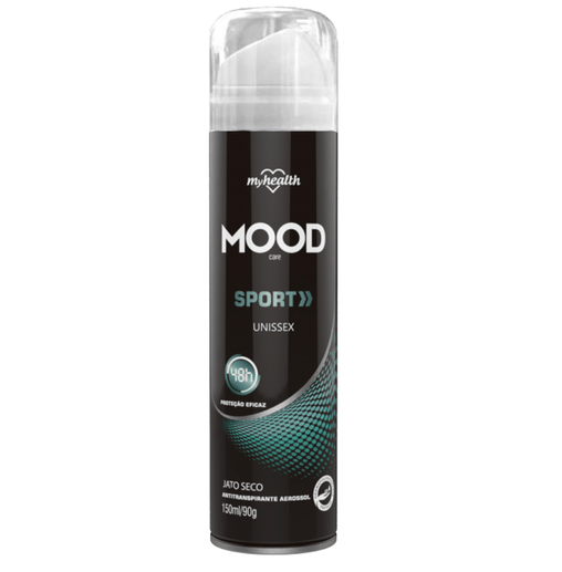 Antitranspirante Aerosol My Health Sport Unissex Mood 150ml My Health Men's Market