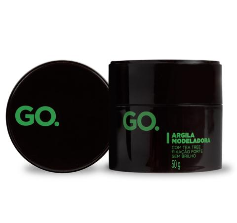 Argila Modeladora Go. Tea Tree 50g Go. Men's Market