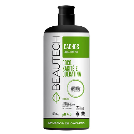 Ativador de Cachos Beautech Liberado 500ml Beautech Men's Market