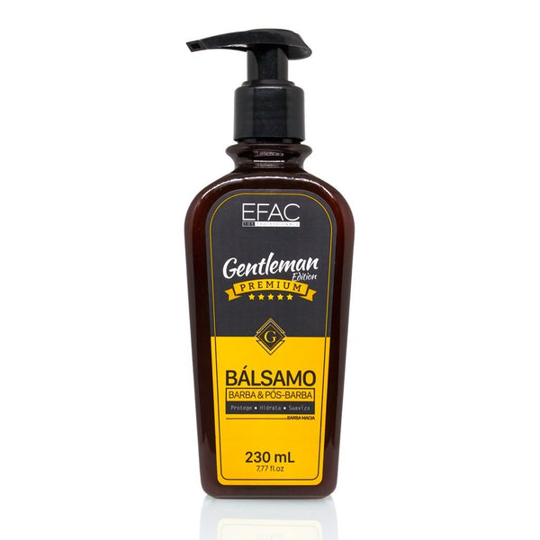Bálsamo para Barba Efac Gentleman Edition 230ml Efac Men's Market