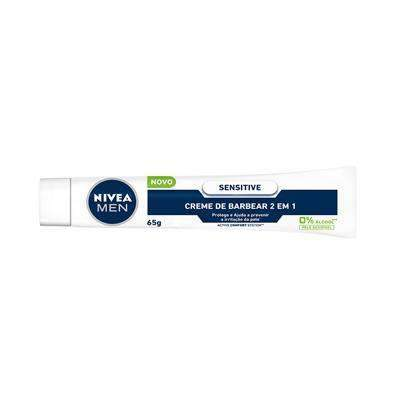 Creme Barbear Nivea Sensitive Nivea Men's Market