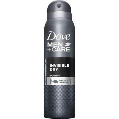 mens-market-brasil - Desodorante Dove Aerosol Men Invisible Dry 150ml - Dove Men Care