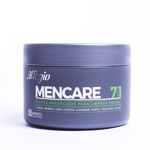 Discos Umidecidos Affagio Men Care 30 Un Affagio Men's Market