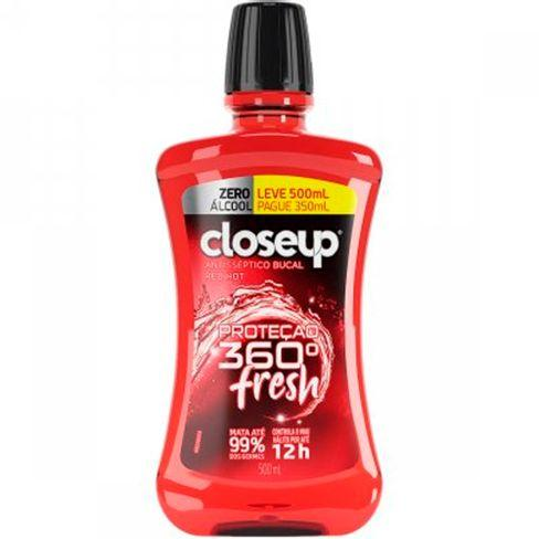 Enxaguante Bucal Close Up Red Hot Sem Álcool 500ml Close Up Men's Market