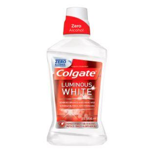 Enxaguante Bucal Colgate Luminous White 500ml Colgate Men's Market