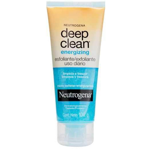 Esfoliante Facial Neutrogena Energizing Deep Clean 100g Neutrogena Men's Market
