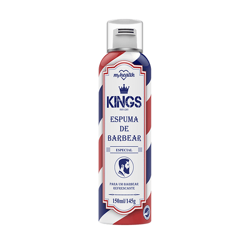 Espuma de Barbear My Health Kings 150ml My Health Men's Market