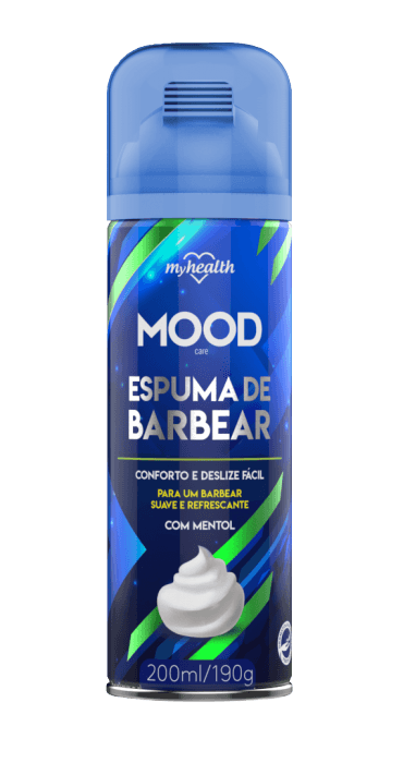 Espuma de Barbear My Health Mood 200ml My Health Men's Market