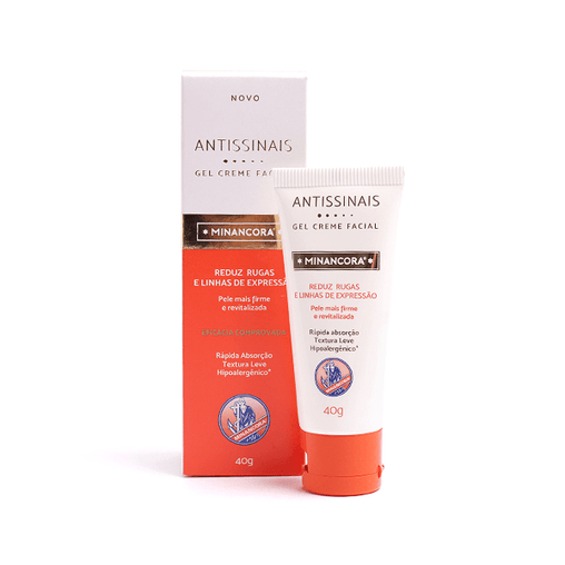 Gel Creme Facial Minancora Antissinais 40g Minancora Men's Market