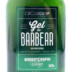 mens-market-brasil - Gel de Barbear Dicolore Barboterapia 500g - Dicolore Barber Shop
