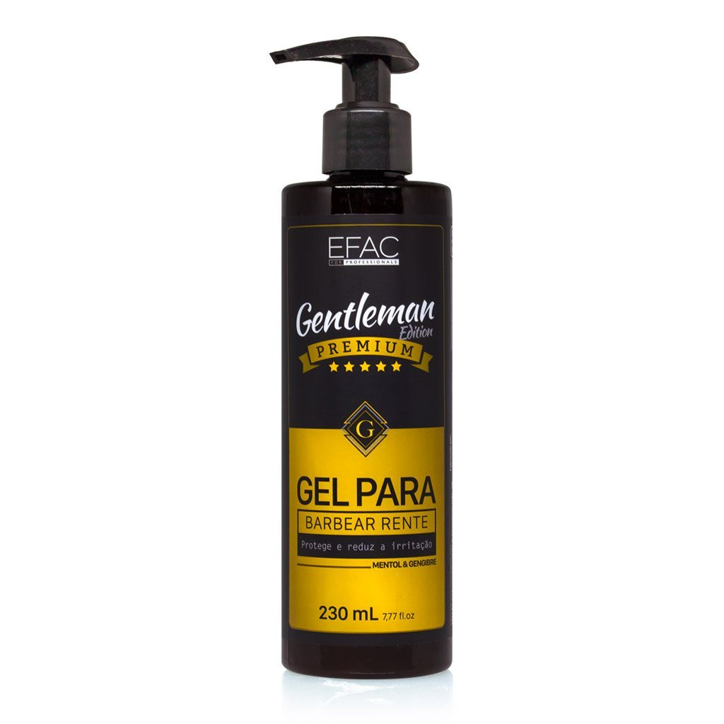 mens-market-brasil - Gel para Barbear Efac Gentleman Edition 230ml - Efac