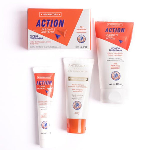 Kit Antiacne Minancora Minancora Men's Market