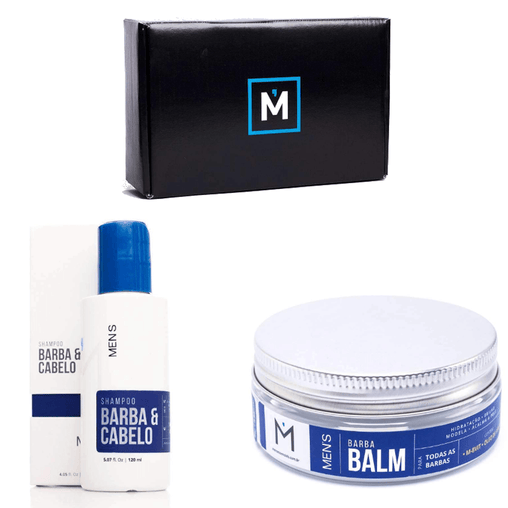 mens-market-brasil - Kit Barba Cerrada Men's - Men's