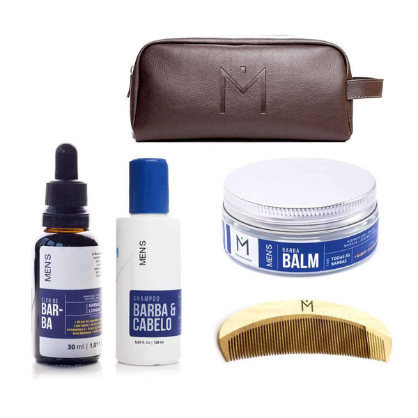mens-market-brasil - Kit Barba Longa Men's - Men's