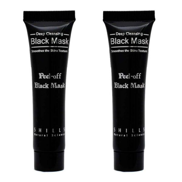 Kit Máscara anti-cravos Shills Peel-off Black Mask Shills Men's Market