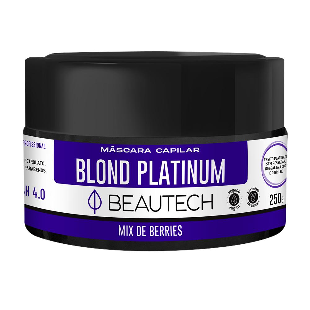 Máscara Beautech Blond Platinum 250g Beautech Men's Market