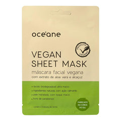 Máscara Facial Vegana Océane Vegan Sheet Mask 15g Océane Men's Market