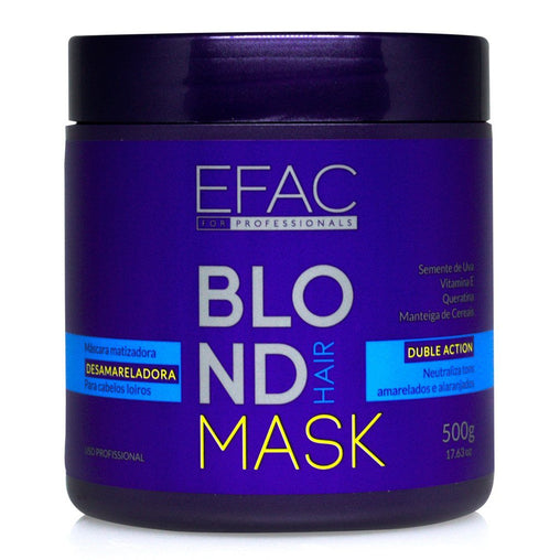 Máscara Matizadora EFAC Blond Hair 500g EFAC Men's Market