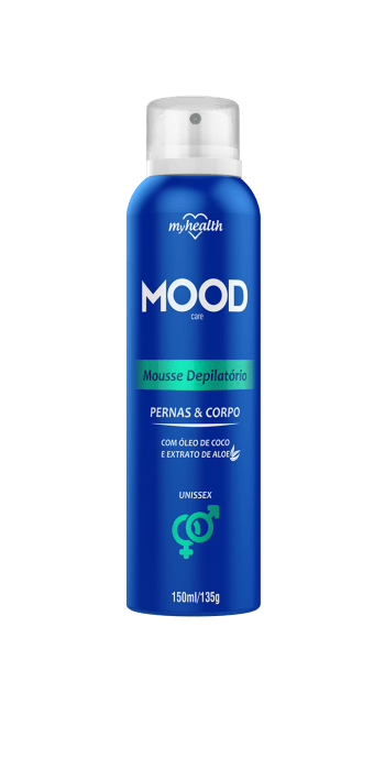 Mousse Depilatório Aerosol My Health Mood 150ml Men's Market Men's Market