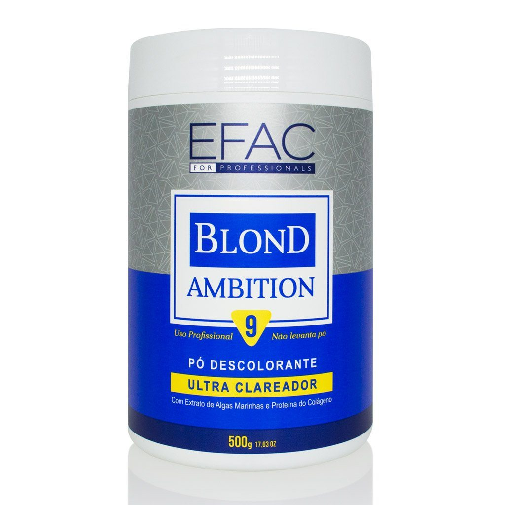 Pó Descolorante Azul EFAC Blond Ambition 500g EFAC Men's Market
