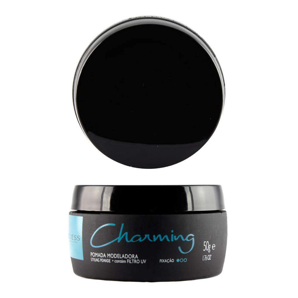mens-market-brasil - Pomada Charming Black 50g - Charming