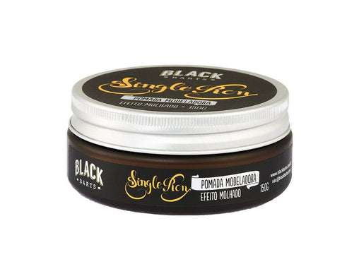 Pomada Efeito Molhado Black Barts Single Ron 150g Black Barts Men's Market