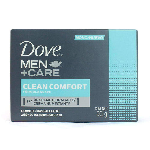 mens-market-brasil - Sabonete Corporal e Facial Dove Men+Care Clean Comfort 90g - Dove Men Care
