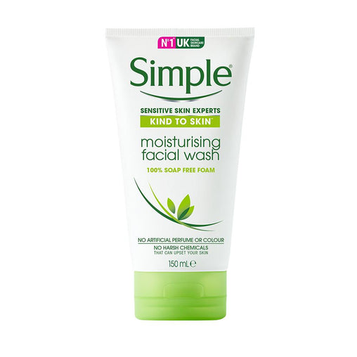 Sabonete Líquido Facial Simple Moisturising 150ml Simple Men's Market