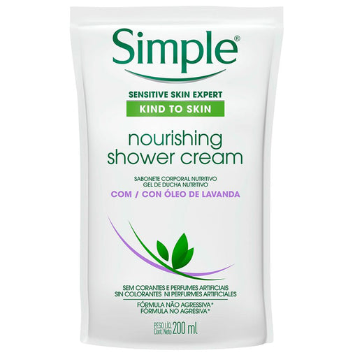 Sabonete Líquido Simple Nourishing Refil 200ml Simple Men's Market