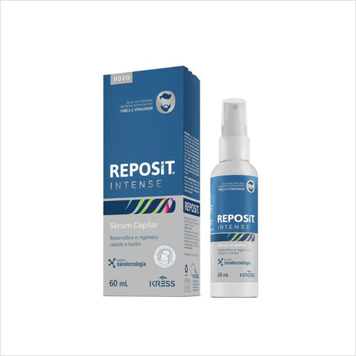 Sérum Capilar Kress Reposit Intense 60ml Kress Men's Market