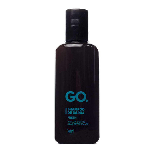 mens-market-brasil - Shampoo de Barba Fresh GO. 140ml - Go.