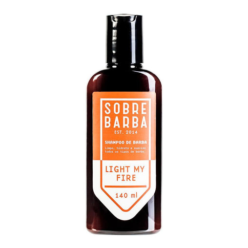 Shampoo de Barba Sobrebarba Light My Fire 140ml Sobrebarba Men's Market