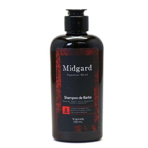 Shampoo de Barba Viking Midgard 100ml Viking Men's Market