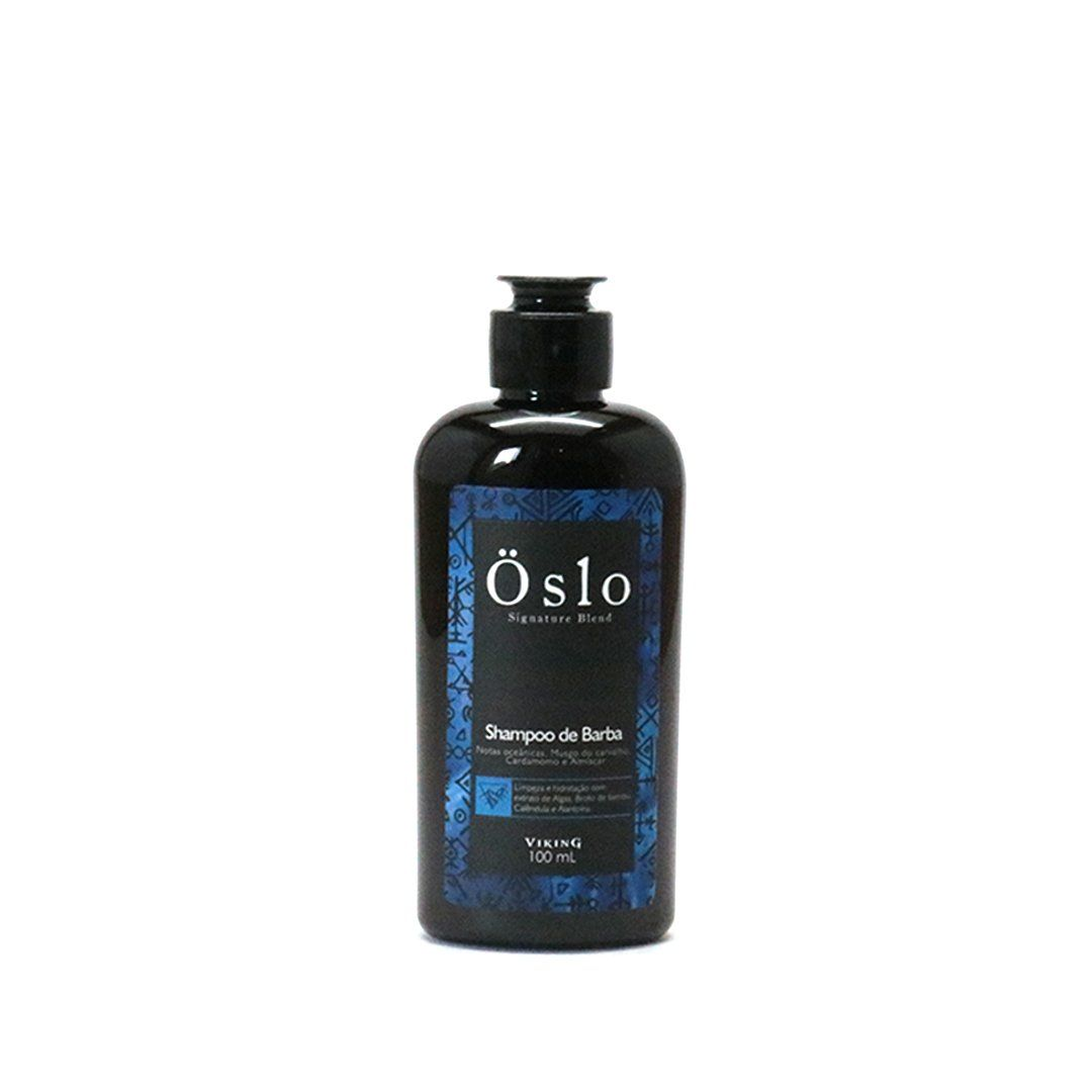 Shampoo de Barba Viking Oslo 100ml Viking Men's Market