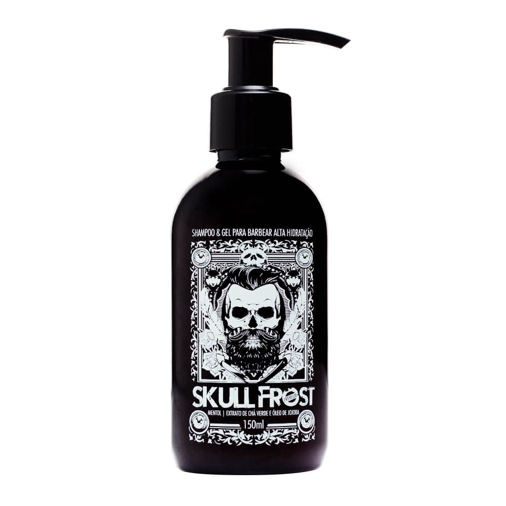 Shampoo e Gel para Barba Smell Of Fragance Skull Frost 150ml Smell of Fragrance Men's Market