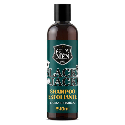 Shampoo Esfoliante Felps Men Black Jack 140ml Men's Market Men's Market