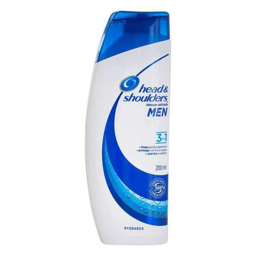 mens-market-brasil - Shampoo Head & Shoulders Anticaspa 3 em 1 200ml - Head & Shoulders