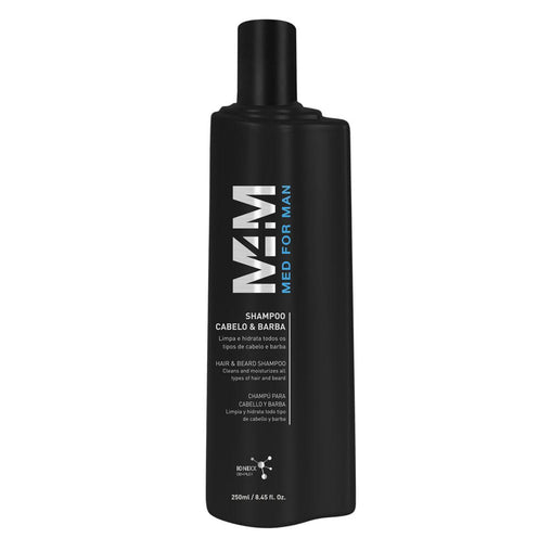 Shampoo Med For Man Cabelo & Barba 250ml Med For Man Men's Market