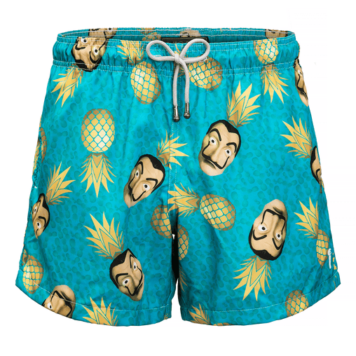 Shorts Mic Fun La Pina de Papel Mic Fun Men's Market