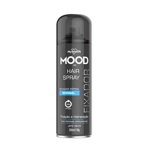 Spray Fixador Aerosol My Health Normal Mood 200ml My Health Men's Market
