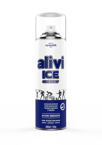 Spray Gelo My Health Alivi Ice 280ml My Health Men's Market