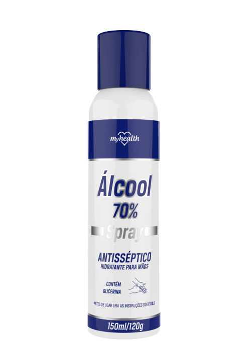 Spray My Health Álcool Antisséptico 150ml My Health Men's Market