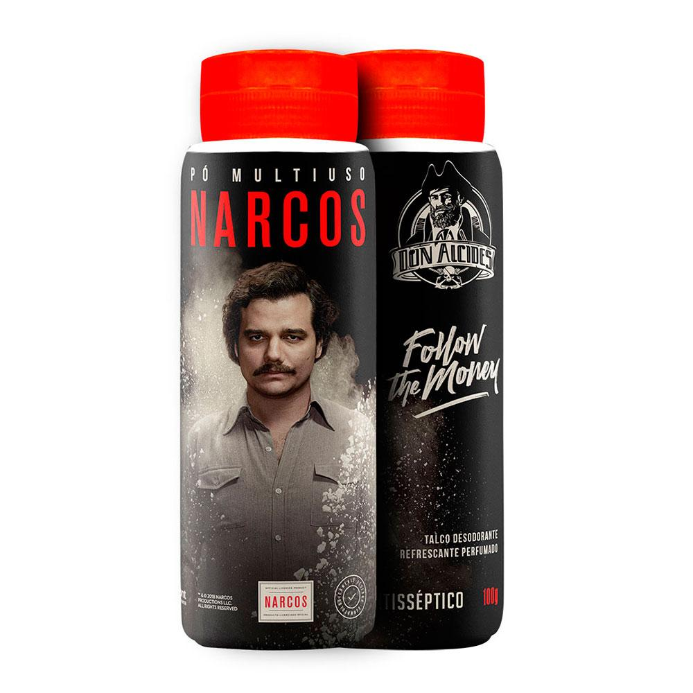 Talco Don Alcides Narcos 100g Don Alcides Men's Market