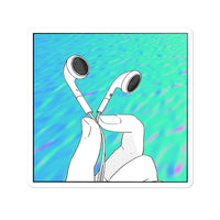 Wavvvy Headphones | Bubble-free stickers