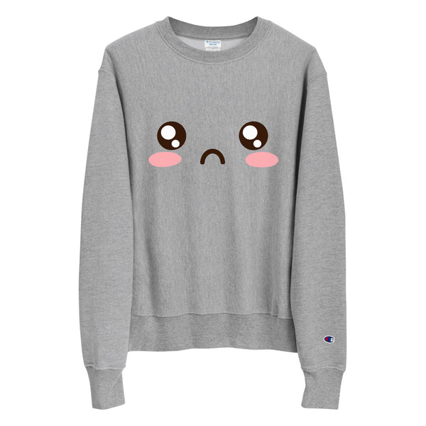Sad Emote | Champion Sweatshirt