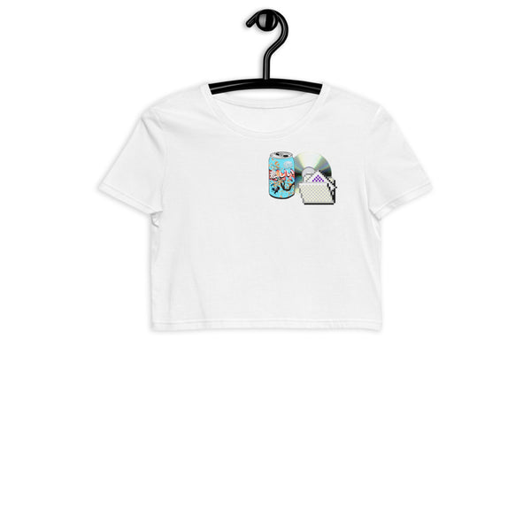 CD File & Beverage | Organic Crop Top