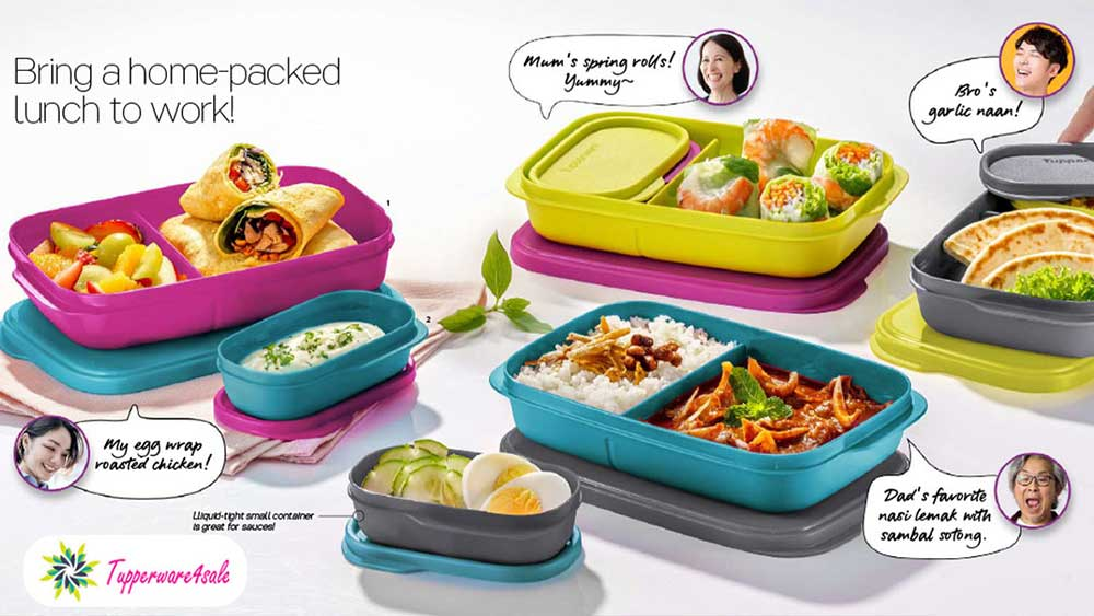 Tupperware My FoodieBuddy Lunch Boxes - New
