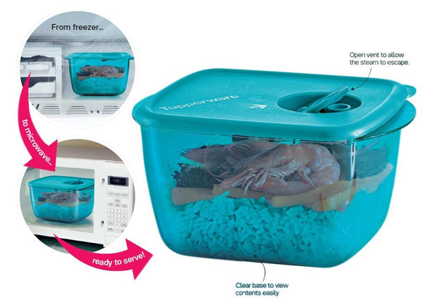 Tupperware Rock n Serve Microweable Lunch Box
