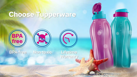 Tupperware Eco Water Bottles